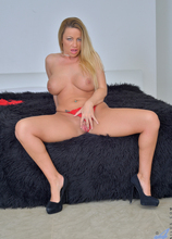 Anilos - Lady In Red featuring Taylor Morgan. (Photos)