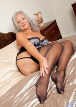 Anilos - Playing With Her Toy featuring April Thomas. (Photos)