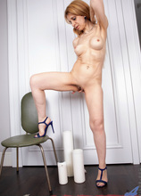 Anilos - Making Myself Cum featuring Karolina. (Photos)