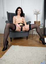 Anilos - Leather And Lingerie featuring Lina Lose. (Photos)