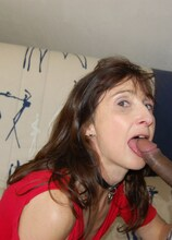 This French mature slut loves a black cock up her ass