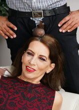 Naughty mature slut getting a big black surprise
