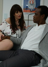 Toni Lace goes interracial