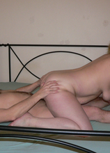 This horny mature slut really loves that old cock