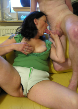 Mature couple fucking hard