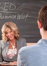 Teacher gets a creampie - Shannon West (20:00 Min.) - MILF Bundle