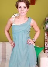 Small breasted MILF Sasha Zima fingering her tight box. in Karupsow | Elite Mature