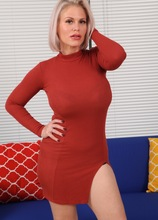 Massive breasted MILF Casca Akashova toys her pussy.