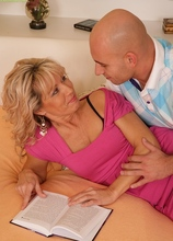 Sexy Janet Darling getting fucked hard doggystyle. in Karupsow | Elite Mature
