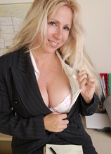 Heather gets naked after work! in Karupsow | Elite Mature