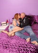 Horndog MILF Janet seduces a young stud and lets him bang her. in Karupsow | Elite Mature