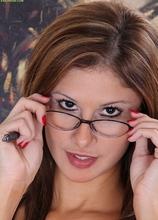 Busty MILF secretary Carla strips naked on her desk. in Karupsow | Elite Mature