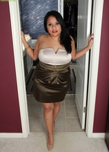 BBW Latin MILF Lucey Perez spreading her pussy. in Karupsow | Elite Mature