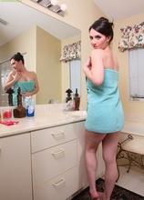 Sexy MILF Charlotte Davis masturbating in the bath. in Karupsow | Elite Mature