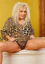 Mature Pictures Featuring 51 Year Old Sissy  From AllOver30