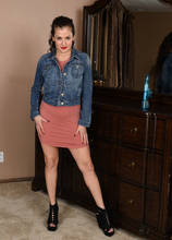 Mature Pictures Featuring 33 Year Old Alejandra  From AllOver30
