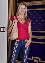 Mature Pictures Featuring 50 Year Old Velvet Skye From AllOver30