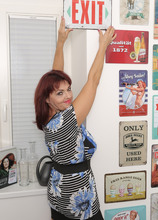 Mature Pictures Featuring 58 Year Old Natalia Muray From AllOver30