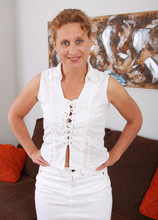 Mature Pictures Featuring 44 Year Old Inge From AllOver30