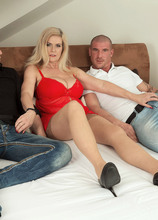 One in her pussy, one in her ass? No problem! - Marina Rene, Max Born, and Steve Q (52 Photos) - 40 Something