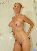 Anilos - Toys In Her Shower featuring Jenna Covelli. (Photos)