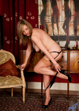 Anilos - Sexy Evening Wear featuring Louise Pearce. (Photos)