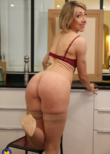 Horny French mature slut fucked up the ass