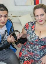 Huge breasted Sophia Lola loves facesitting on her toy boy