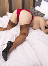 Naughty Wanilianna loves showing you her panties and more