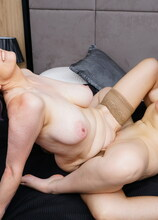 Naughty lesbian housewives getting wild
