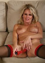 Bridgett wants it rough in her bedroom!