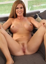 Sexy big breasted MILF Ivy Secret spreads her legs wide open. in Karupsow | Elite Mature
