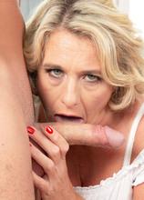 Camilla gets a creampie