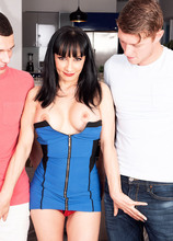 Natasha Ola's first threesome ever - Natasha Ola, Johnny The Kid, and Oliver Flynn (95 Photos) - 40 Something