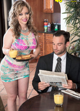 Mallory makes her man later for work - Mallory Taylor and Alex Legend (50 Photos) - 40 Something
