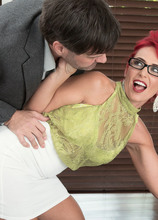 Nola makes a cuckold of her husband - Nola Rouge, J Mac, and Seymour Voir (40 Photos) - 40 Something