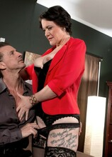 Vivian Piper Takes It Up Her Ass-Pipe - Vivian Piper and Tony D'Sergio (57 Photos) - 40 Something