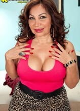 A big-titted, big-assed, 57-year-old, Latina divorcee - Sandra Martines (82 Photos) - 40 Something