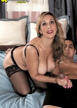 Damn Impressive For A First Time! - Sophia Jewel and Juan Largo (52 Photos) - 40 Something