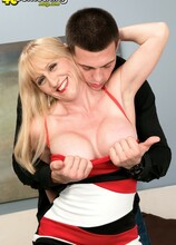 Stick it in her ass? O-Kay! - Kay Kummingz and Johnny Champ (56 Photos) - 40 Something