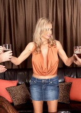 When Hubby's Away, Cristy Gets Ass-Fucked - Cristy Lynn, Juan Largo, and Rick (64 Photos) - 40 Something