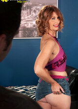 A Salty Load Of Cum For Pepper - Pepper and John Strange (28 Photos) - 40 Something