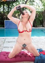 Poolside with DayLynn and her fuck toy - Daylynn Thomas (59 Photos) - 50 Plus MILFs