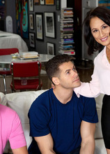 DP'd by her step-son and his buddy! - Maya Luna, Giovanni Francisco, and Jack Escobar (52 Photos) - 50 Plus MILFs