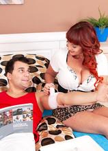 Beau's cock rehab - Beau Diamonds and Nick Vargas (66 Photos) - 50 Plus MILFs