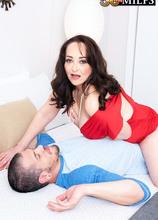 Veronika's first on-camera fuck - Veronika Vixon and Bambino (81 Photos) - 50 Plus MILFs