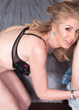 Now 50, Sindi Star returns for young cock! - Sindi Star and Matt Sloan (48 Photos) - 50 Plus MILFs