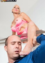 How much does Mr. Dix like Lexy? Schwing! - Lexy Cougar and Jimmy Dix (62 Photos) - 50 Plus MILFs