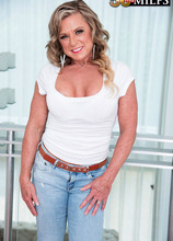 <b>Missy takes a BBC in her ass. Hubby watches.</b> - Missy Blewitt, Jax Black, and Rock Marino (56 Photos) - 50 Plus MILFs