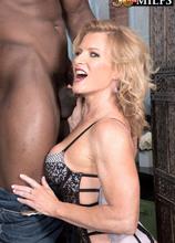 Now 50something, Amanda enjoys an interracial ass-fuck - Amanda Verhooks and Jax Black (62 Photos) - 50 Plus MILFs